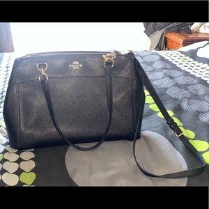 Coach women's black bag